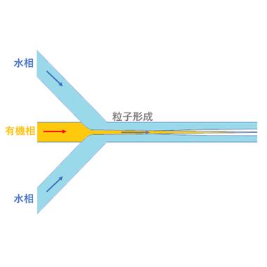 リポソームナノ粒子HFF作製チップ